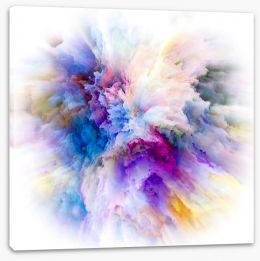 Abstract Stretched Canvas 274608495