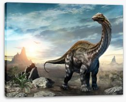 Dinosaurs Stretched Canvas 274957458