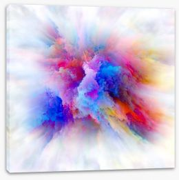 Abstract Stretched Canvas 275873585