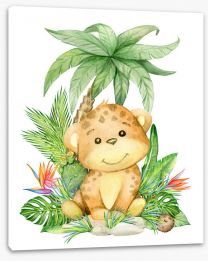 Animal Friends Stretched Canvas 277185254