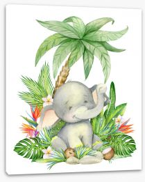 Animal Friends Stretched Canvas 277187579