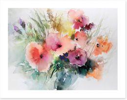 Watercolour Art Print 277386304