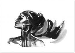 African Art Art Print 278818767