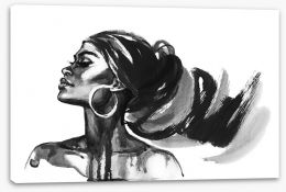African Art Stretched Canvas 278818767