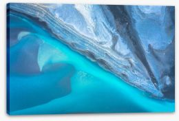 Abstract Stretched Canvas 283415597