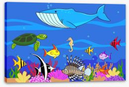 Under The Sea Stretched Canvas 28343545