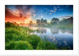 Rivers Art Print 285225993