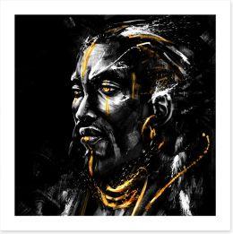 Black and White Art Print 285892803