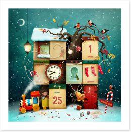 Christmas Art Print 287341212
