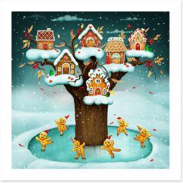 Christmas Art Print 287929755