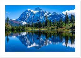 Lakes Art Print 292804868