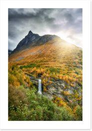 Waterfalls Art Print 293452426