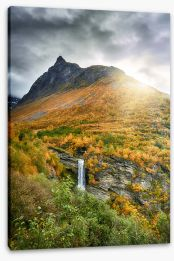 Waterfalls Stretched Canvas 293452426