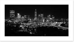 Perth night skyline Art Print 2938483