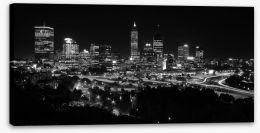 Perth night skyline Stretched Canvas 2938483