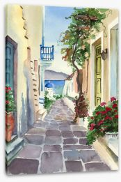 Watercolour Stretched Canvas 294385994