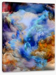 Abstract Stretched Canvas 295553175