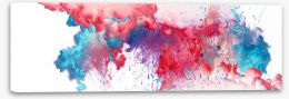 Abstract Stretched Canvas 296131795