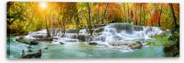Waterfalls Stretched Canvas 296784808