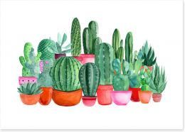Watercolour Art Print 299909623