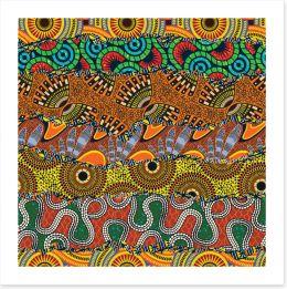African Art Print 313091816