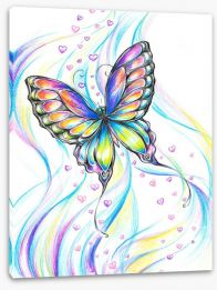 Butterfly love Stretched Canvas 31428277
