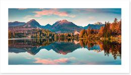Lakes Art Print 314900338