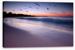 Dreamy dusk Stretched Canvas 31986506
