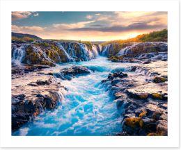 Waterfalls Art Print 322150046
