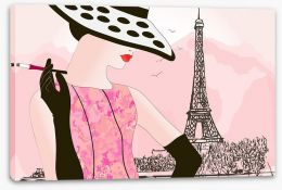 Waiting at the tour Eiffel Stretched Canvas 33639999