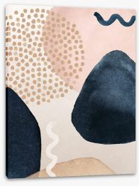 Abstract Stretched Canvas 348567415