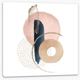 Abstract Stretched Canvas 348567721