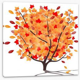 The Autumnal tree