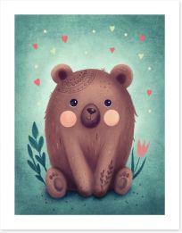 Animal Friends Art Print 354658579