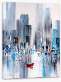 New York Stretched Canvas 355876968