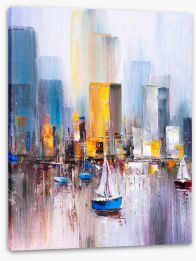 New York Stretched Canvas 358113986