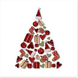 Christmas Art Print 35849250