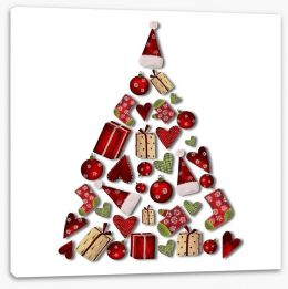 Christmas Stretched Canvas 35849250