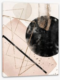 Abstract Stretched Canvas 365369306
