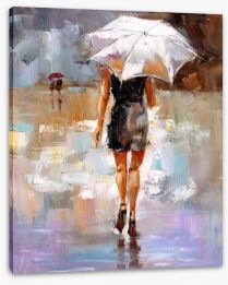 Impressionist Stretched Canvas 366537041