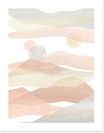 Watercolour Art Print 368243874