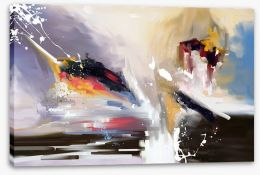 Abstract Stretched Canvas 373898162