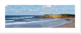 Torquay beach panorama
