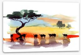 African art Stretched Canvas 39762784