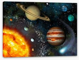 The solar system Stretched Canvas 40477557