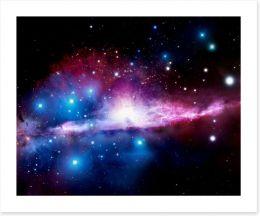 Deep space nebula Art Print 40510624