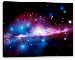 Deep space nebula Stretched Canvas 40510624