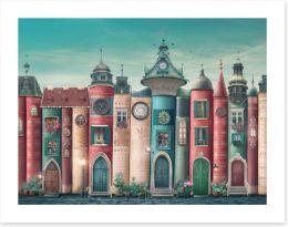 Magical Kingdoms Art Print 406761186