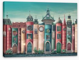 Magical Kingdoms Stretched Canvas 406761186