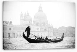 Venice gondola Stretched Canvas 40706071